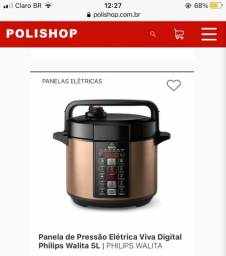 Título do anúncio: Panela de Pressão Elétrica Viva Digital Philips Walita 5L