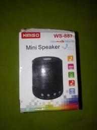 Mini speaker rádio bluetooth ws 887