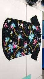 Camisas florais M