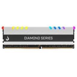Título do anúncio: Memória Gamer Rise Mode Diamond RGB, 8GB 3000MHz DDR4 Branca Garantia vitalícia