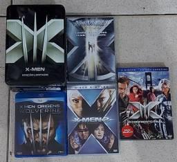 DVD'S/ X-MEM EDIÇÃO LIMITADA +1 BRU-RAY