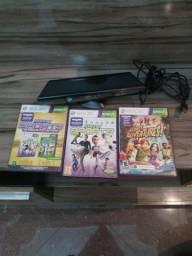 Kinect + jogos xbox 360