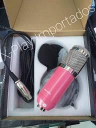 Microfone Condenador Profissional
