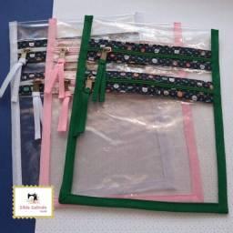 Caruaru - Porta máscara/Organizador transparente