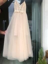 Vestido para ensaio de noiva