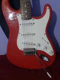 Guitarra Stratocaster Squier By Fender Bullet Start