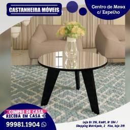 Mesa de centro, com espelho, R$ 399,00 ou até 10x de R$ 39,90, sem Juros!!