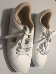 Sapato Branco Semi-Novo