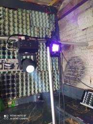 Iluminação profissional para festas