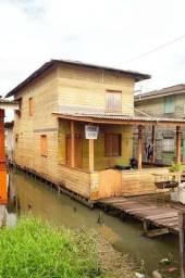 Vende casa no novo buritizal ( área de ressaca)