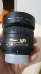 Lente Nikon Dx Af-s 35mm 1:1.8g
