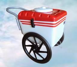 Carrinho de picolé ou sorvete NOVO (Loja física com nota e garantia)