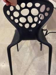 Cadeiras design italiano de plastico injetado