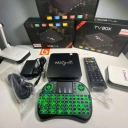 Kit TV Box MxQ pro 5G 11.1 256GB + Mini teclado Configurado, entregamos