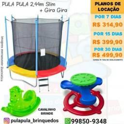Aluguel - Kit de brinquedos por 7, 15 e 30 dias em sua casa ou apartamento