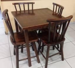 Torro jogos de mesas de madeira cadeiras usadas para bar/boteco