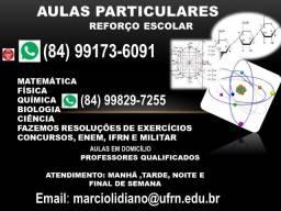 Biologia, Física, Química e Matemática