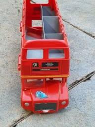 Título do anúncio: Ônibus Carrega Carrinho Coleção Carros 2