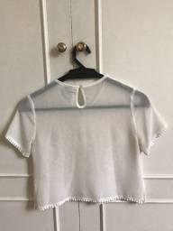 Blusa de crepe - Tam P