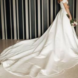 Vestido de noiva - marca espanhola Pronovias!