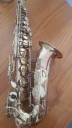 Saxofone Alto King Pronto para tocar