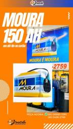 Título do anúncio: Super promoção de Bateria Moura 150 ah