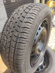 Rodas coquinho 15 GM com pneus novos (remold)