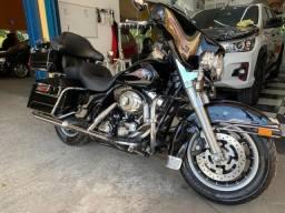 Harley davidson electra glide 2008 revisada sem detalhes