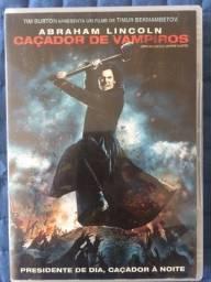 Título do anúncio: DVD Abraham Lincoln Caçador de Vampiros