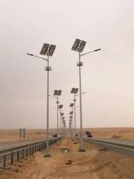 Título do anúncio: Poste Solar Fotovoltaico - Led 120w - 10 Metros