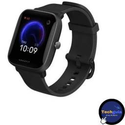 "Smartwatch Amazfit Basic Bip U Pro 1.43"" Garantia e Nota"