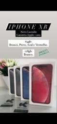 iPhone XR Branco, Preto, Vermelho e Azul - 64gb e 128gb - Novo Lacrado