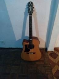 Violao strinberg guitarra  e violão tagiman canhoto