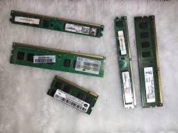 Memória memórias memoria pc pente computador ddr3 note