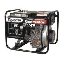 Gerador Toyama à Diesel Tdg4000 4kva