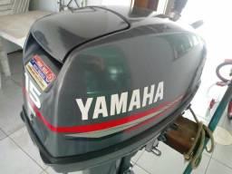 Motor de popa 15hp Yamaha ano 2005 semi novo - 2005