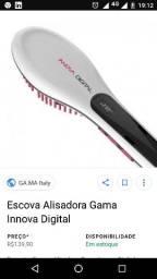 Escova alisadora gama italy