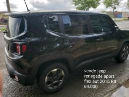Vendo jeep renegade sport flex aut 1.8 - 2016