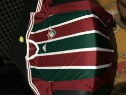 Camisa Fluminense 2014 2015 adidas Sem Patrocínio d33d4528c2298