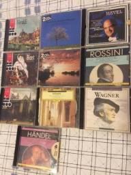 10 cds musicas clássicas em perfeito estado sem riscos