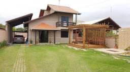 Sobrado com 3 dormitórios para alugar, 109 m² por r$ 1.200/dia - rosa dos ventos - itapoá/