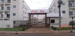 Apartamento com 2 dormitórios para alugar, 44 m² por R$ 1.000/mês - Floresta - Cacoal/RO