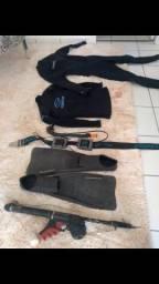 Kit de Megulho para Pesca