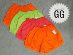 Short Neon Feminino tamanho GG