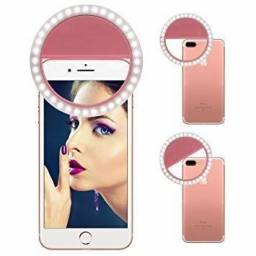 Luz De Selfie Light Ring Anel Led Flash Celular Tablet Universal