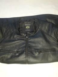 200 R$ promoção jaqueta em couro legítimo