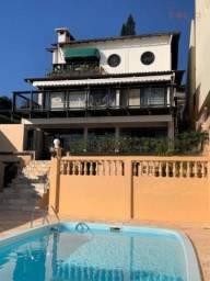 Belíssima Casa com Vista para o MAR e 5 Municípios, Piscina, 3 pvtos e 3 dorm. à venda, 60