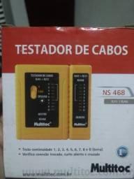 Testador de cabo de rede