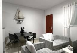 Apartamento 2 Quartos no Vista da Serra, Entrada Facilitada e Documentação Grátis