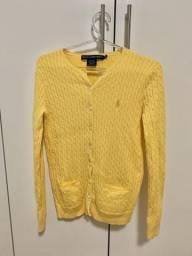 Suéter algodão ( Ralfh Lauren Sport) original P